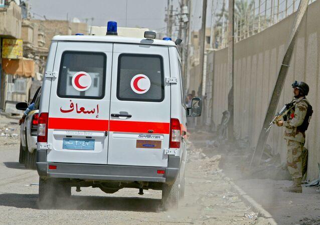 Une ambulance à Bagdad (image d'illustration)