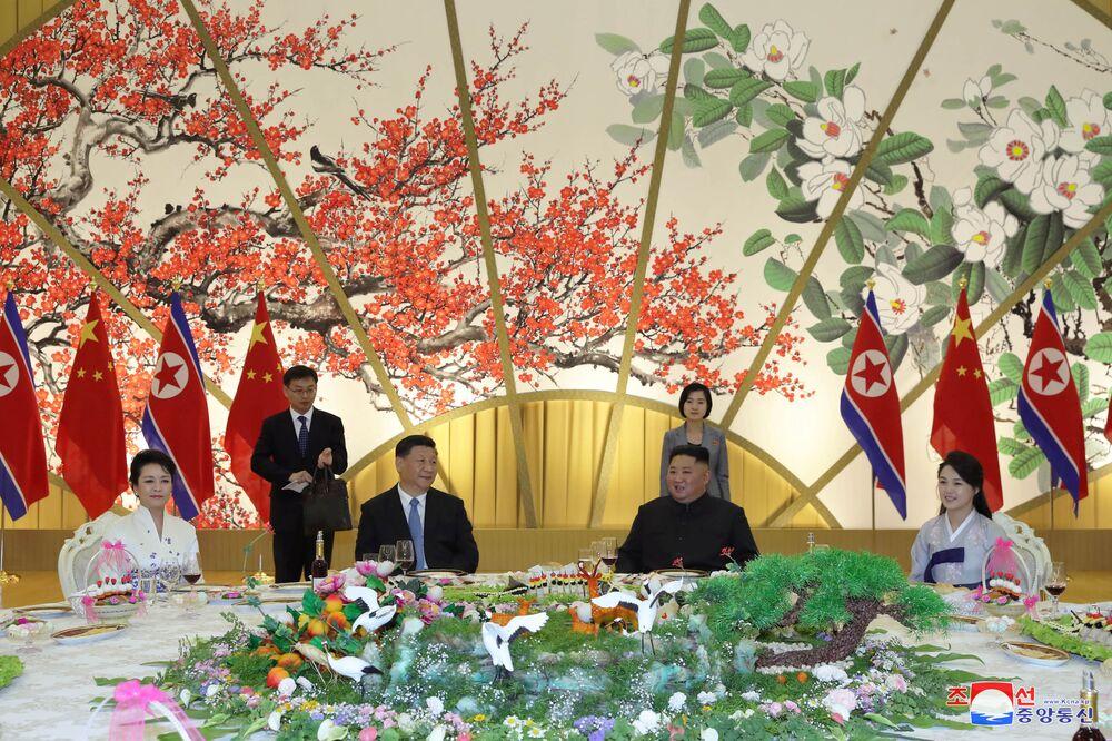 La première visite officielle d'un Président chinois en Corée du Nord depuis 14 ans