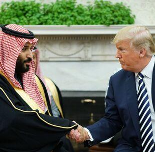 Le Président américain et le prince héritier saoudien