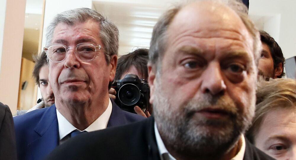 Patrick Balkany et son avocat Éric Dupond-Moretti