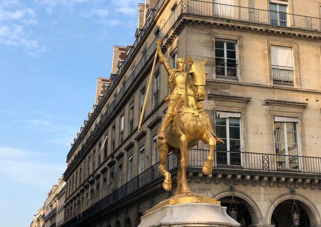 Statue de Jeanne d'Arc à Paris