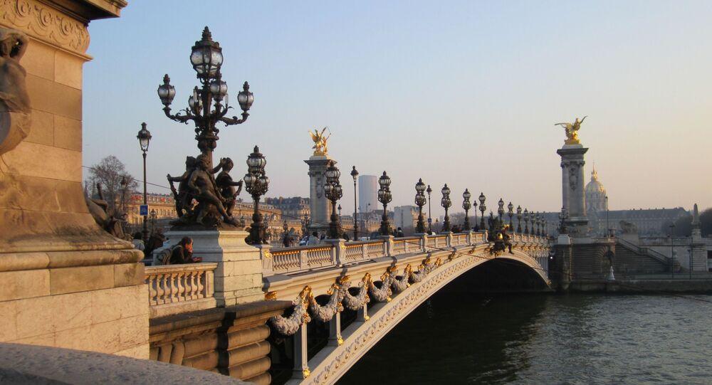 Le pont d'Alexandre III à Paris