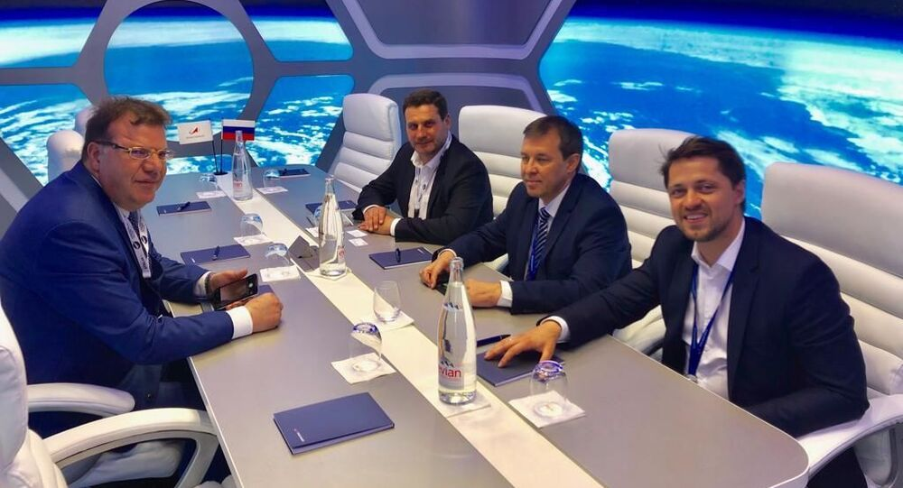Protocole d'accord spacial entre la Russie et la Tunisie