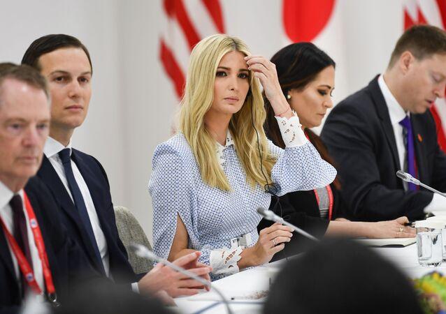 Ivanka Trump et Jared Kushner en marge du sommet du G-20 à Osaka