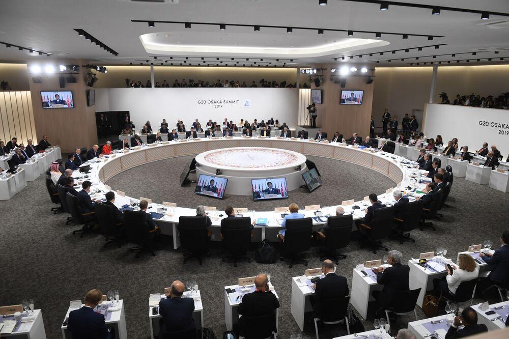 Ouverture du sommet du G20 à Osaka