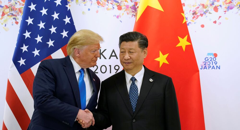 Donald Trump et Xi Jinping à Osaka