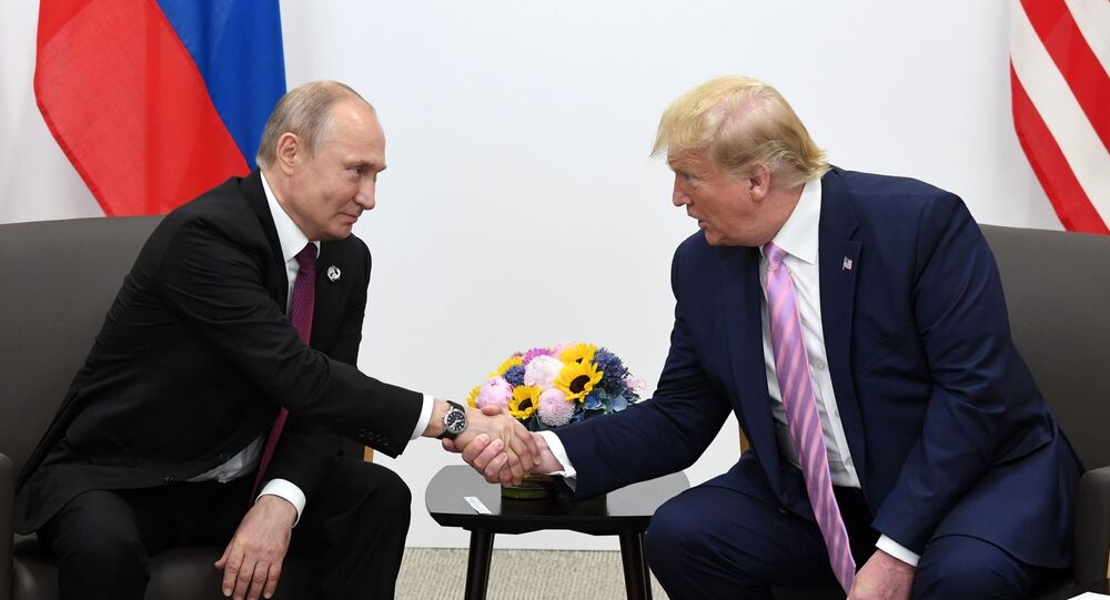 Vladimir Poutine et Donald Trump, image d'illustration