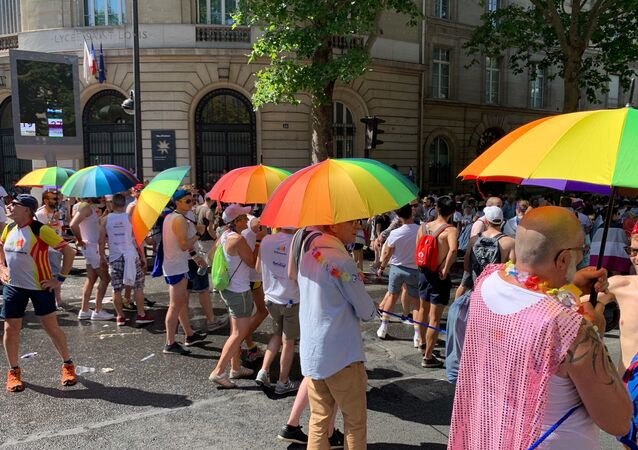 Gay pride à Paris