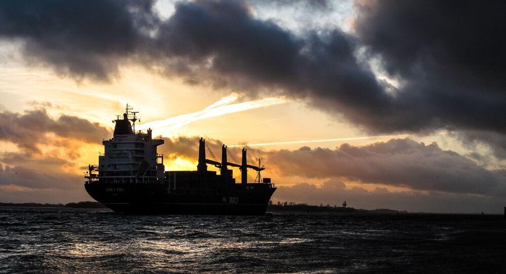 Un navire-citerne