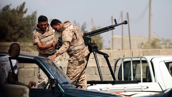 Des soldats de l'ANL en Libye (archive photo) - Sputnik France