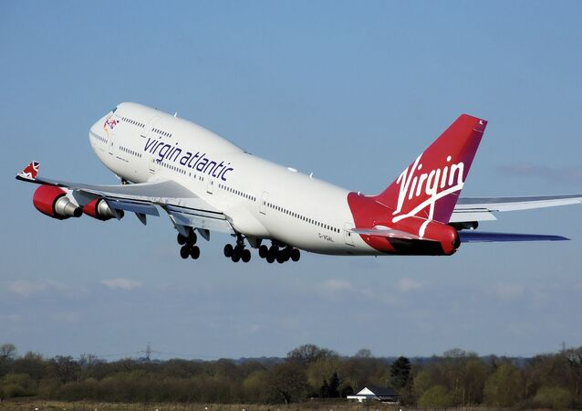 Un avion de Virgin Atlantic (image d'illustration)
