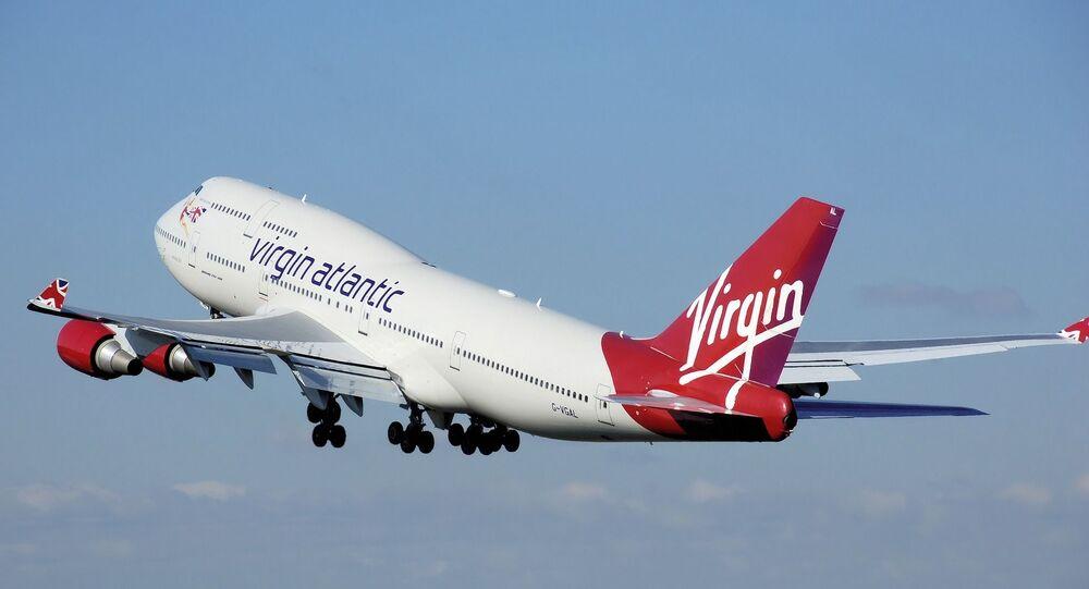 Un avion de Virgin Atlantic (image d'illustration)