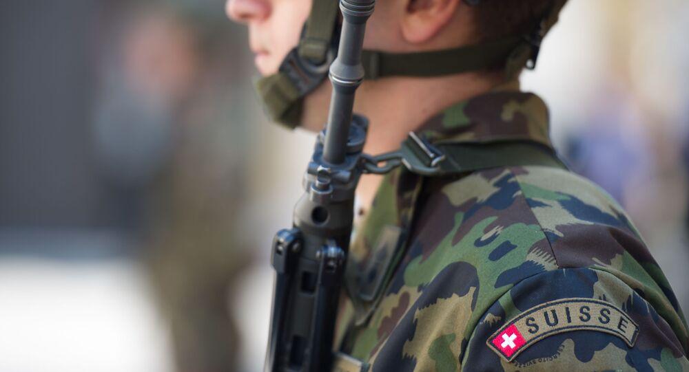 un soldat suisse, image d'illustration
