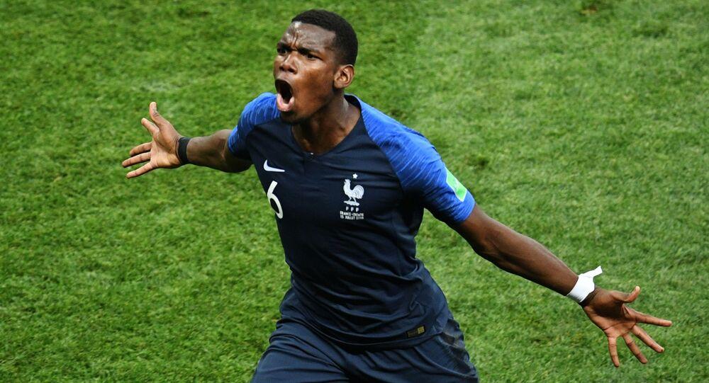 Paul Pogba à la Coupe du monde 2018