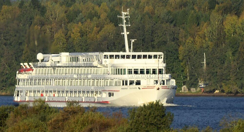 Le paquebot Viking Helgi