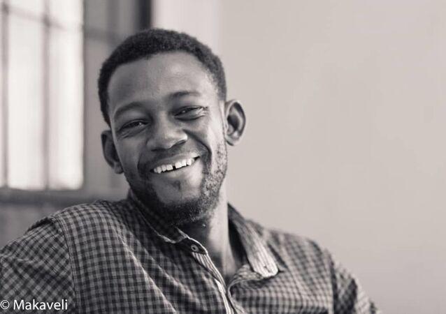 Ousmane Traoré dit Ousmane Makaveli, blogueur et activiste malien.