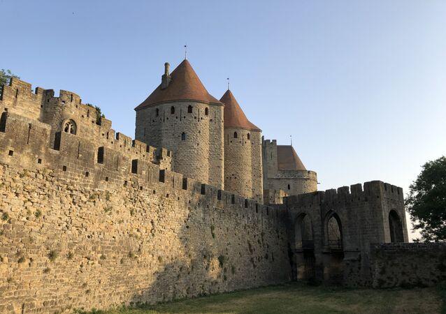 La citadelle médiévale de Carcassonne, La Cité.