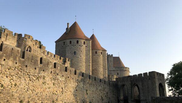 La citadelle médiévale de Carcassonne, La Cité.  - Sputnik France