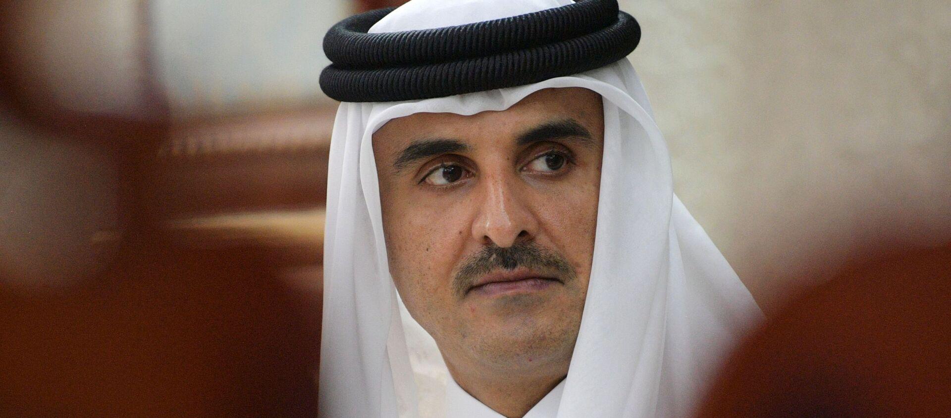 L'émir du Qatar Tamim ben Hamad Al Thani  - Sputnik France, 1920, 05.01.2021