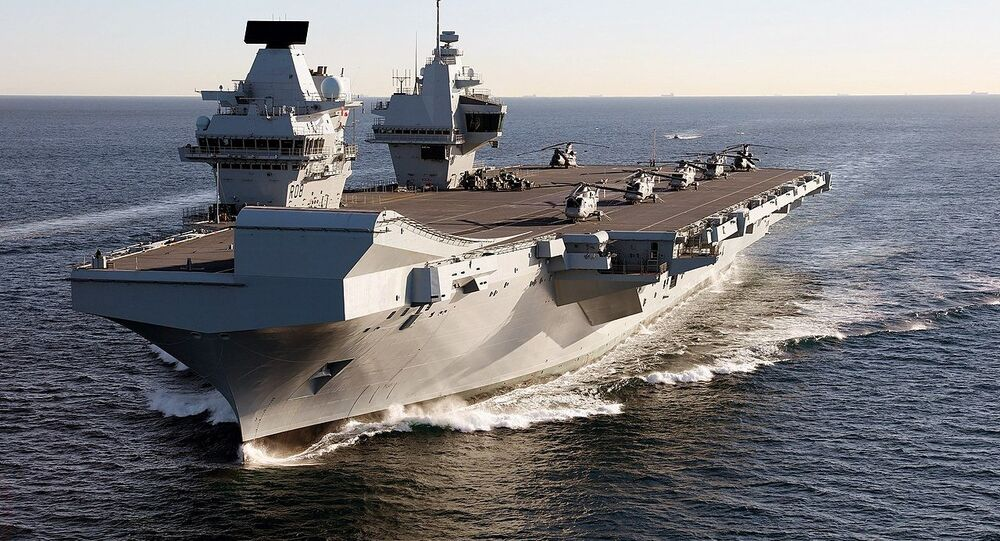 Porte-avions britannique HMS Queen Elizabeth (archive photo)