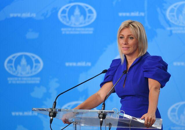 Maria Zakharova, porte-parole du ministère russe des Affaires étrangères (photo d'archives)
