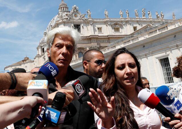 Frère d'Emanuela Orlandi disparue au Vatican il y a 36 ans