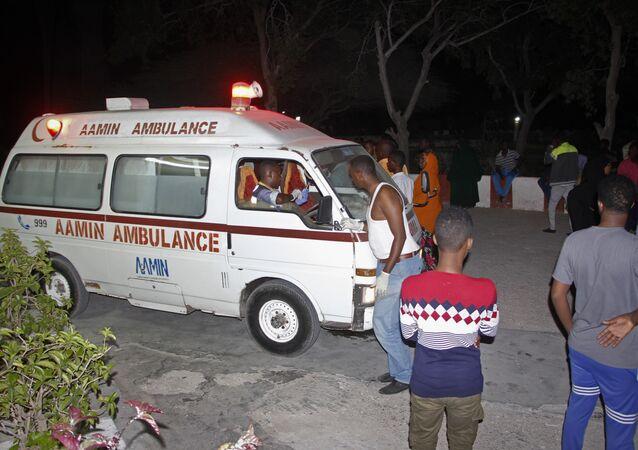 Ambulance en Somalie (image d'illustration)
