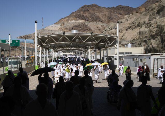 Des pèlerins en Arabie saoudite