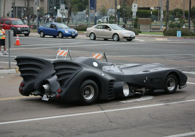 Batmobile, image d'illustration