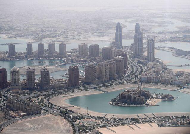 Les gratte-ciel de Doha