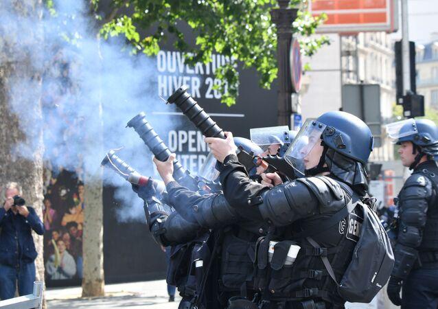 Situation sur les Champs-Élysées le 14 juillet