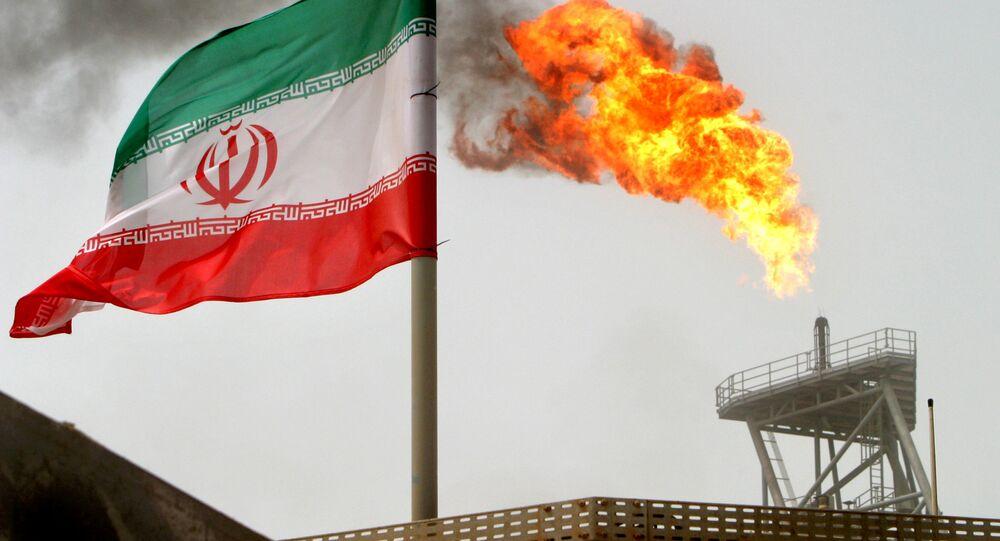 Production pétrolière en Iran