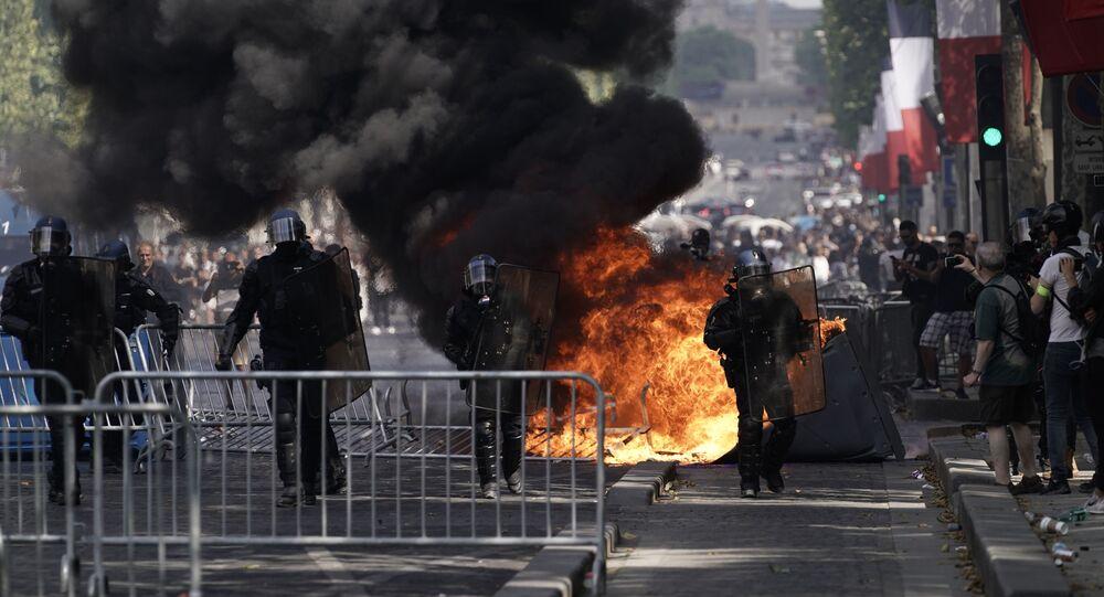 violences à Paris le 14 juillet