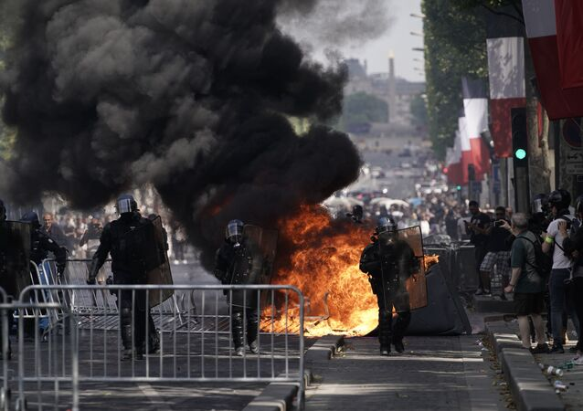 violences à Paris le 14 juillet