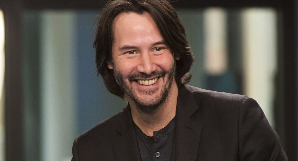 Keanu Reeves participates in the BUILD Speaker Series to discuss John Wick: Chapter 2 at AOL Studios on Thursday, Feb. 2, 2017, in New York