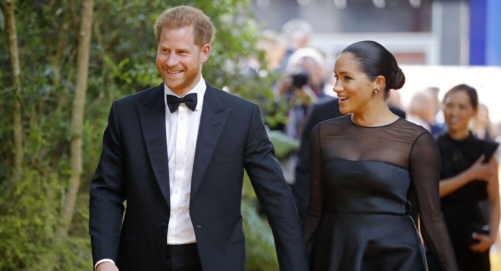 Le duc et la duchesse de Sussex