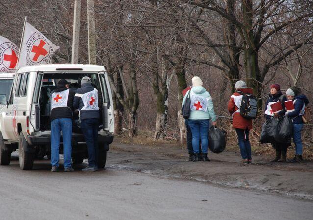 Un échange de prisonniers entre l'Ukraine et les républiques autoproclamées de Donetsk et de Lougansk, décembre 2017