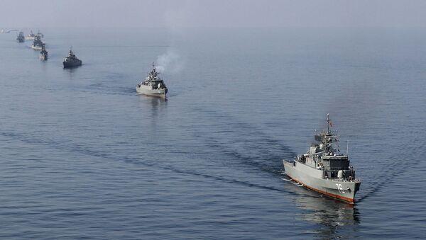 Иранские ВМС в Ормузском проливе - Sputnik France