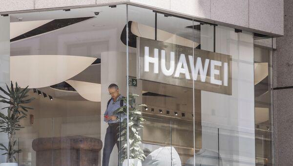 Une boutique de Huawei à Madrid (archive photo) - Sputnik France