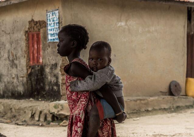 Des enfants en Afrique (image d'illustration)