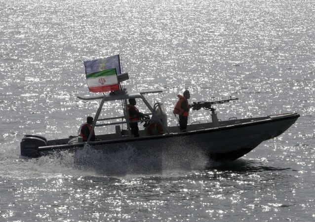 Une vedette des Gardiens de la révolution iraniens