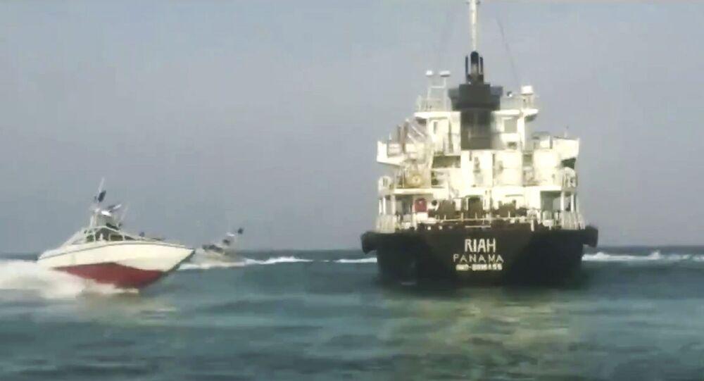 Le pétrolier Riah arraisonné par l'Iran