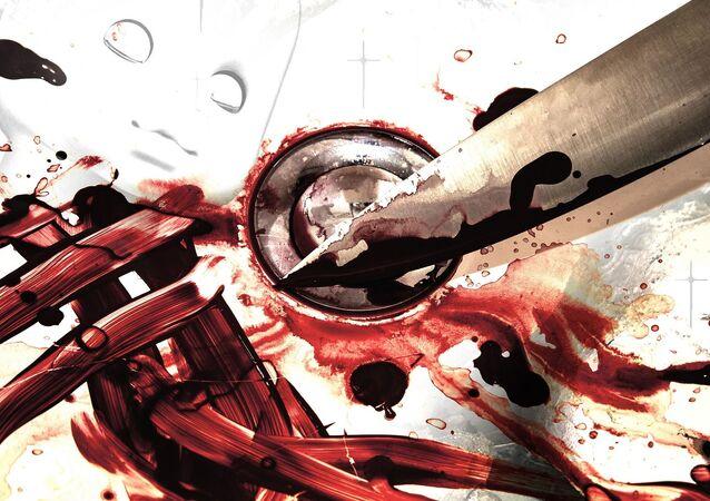Couteau ensanglanté