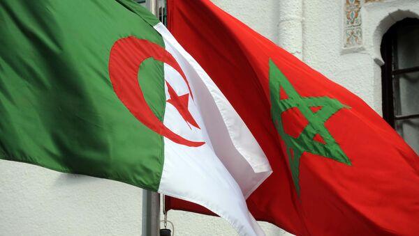 Drapeaux Algérie-Maroc - Sputnik France