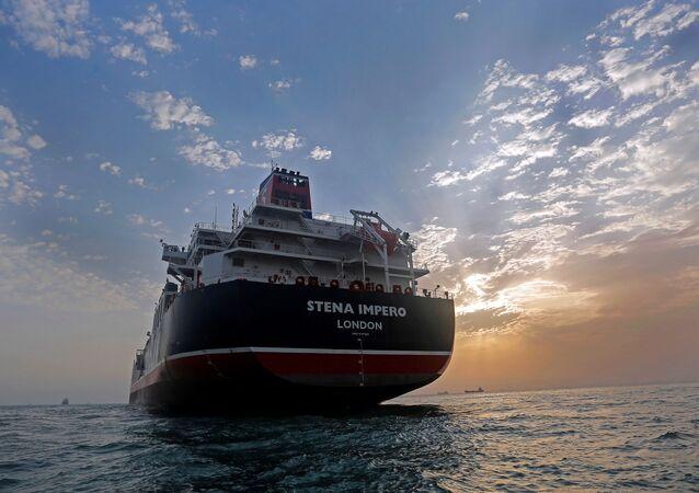 Stena Impero, pétrolier britannique