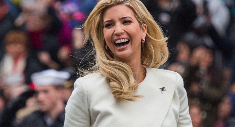Ivanka, la fille de Donald Trump