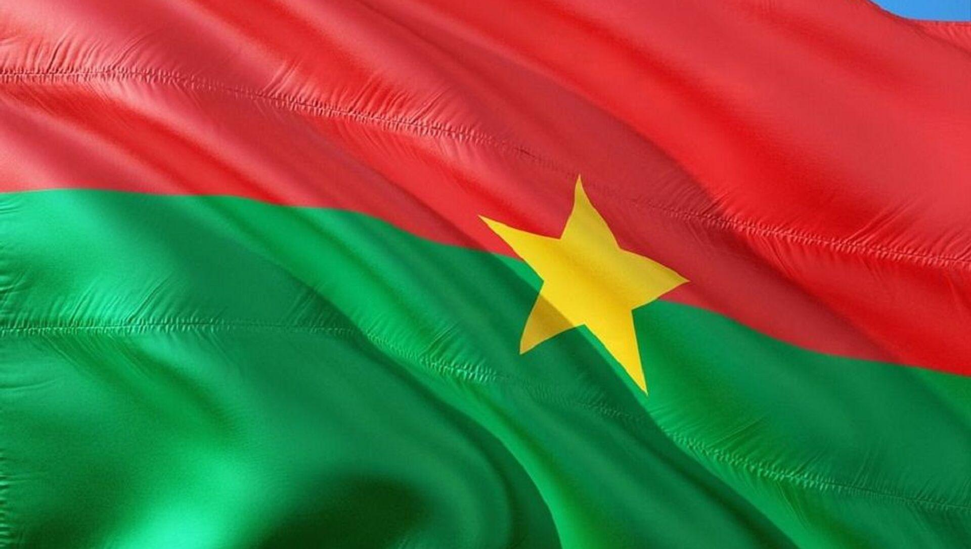 Drapeau Burkina Faso - Sputnik France, 1920, 27.07.2021