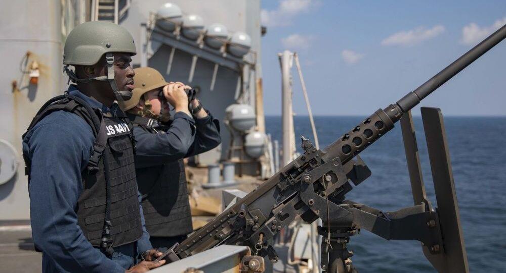 Navire américain dans le détroit d'Ormuz (ptoto d'archives)