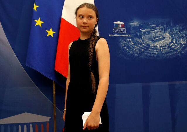 Greta Thunberg à l'Assemblée nationale mardi 23 juillet