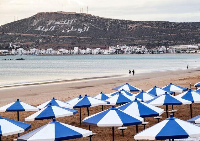 Пляж в Агадире.